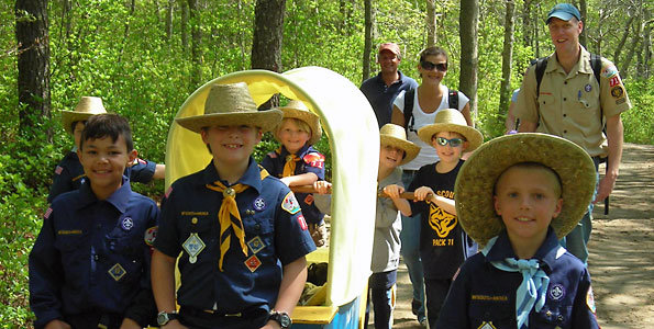 Where Cub Scouts show their stuff