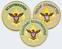 Troop Adult Leader Position Patches